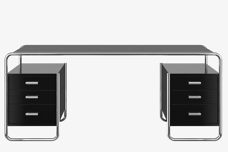 La scrivania S 285 in tubolare d'acciaio: un pezzo di storia del ...