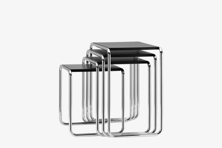 set b 9 designmarcel breuer - Marcel Breuer Tisch